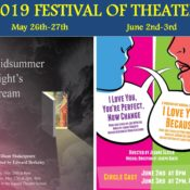 Festival of Theater: 2019